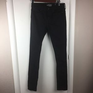 NEW RUDE  Super Skinny Black Jeans